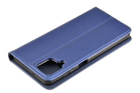 Etui Smart do Samsung Galaxy A12 niebieski