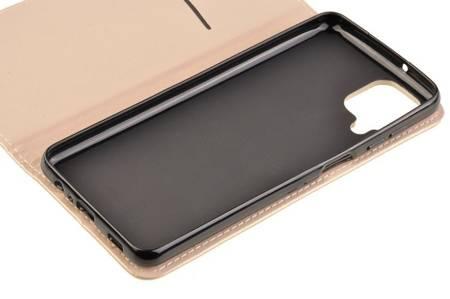 Etui Smart do Samsung Galaxy A12 złoty