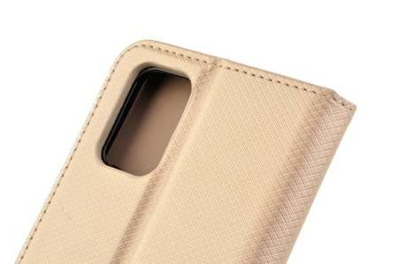 Etui Smart do Samsung Galaxy M31s złoty