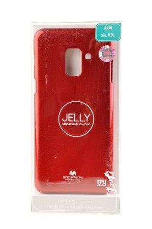 Etui nakładka Mercury Goospery Jelly Case do SAMSUNG GALAXY A8 2018 A530 czerwony