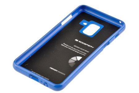 Etui nakładka Mercury Goospery Jelly Case do SAMSUNG GALAXY A8 2018 A530 niebieski