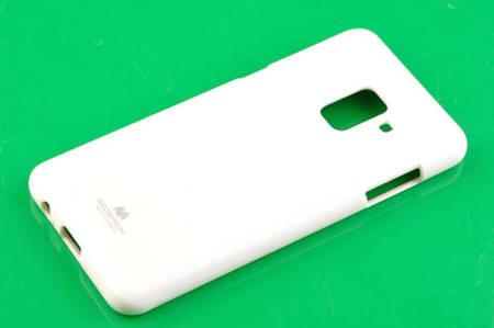 Etui nakładka Mercury Goospery Jelly Case do SAMSUNG GALAXY A8 2018 A530 przezroczysty