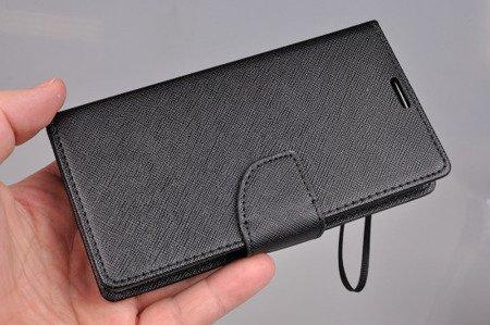 Etui portfel Fancy Case do MICROSOFT LUMIA 535 czarny