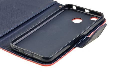 Etui portfel Fancy Case do Xiaomi Redmi 4X czerwony