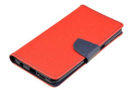 Etui portfel Fancy Case do Xiaomi Redmi Note 9S / 9 Pro / 9 Pro Max czerwony