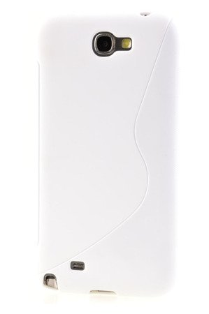 Etui silikonowe S-Case do SSAMSUNG GALAXY NOTE 2 N7100 N7105 biały