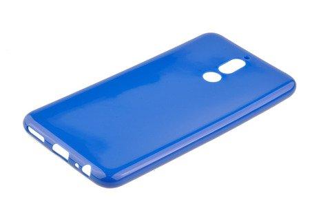 Etui silkonowe nakładka Jelly Case do HAUWEI Mate 10 Lite niebieski