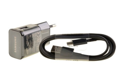 Oryginalna szybka ładowarka siecowa Samsung Fast Charge + kabel Typ C