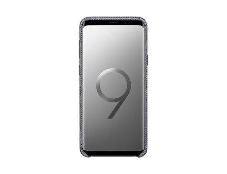 Oryginalne Etui Hyperknit Cover do SAMSUNG Galaxy S9+ / S9 Plus G965 szary