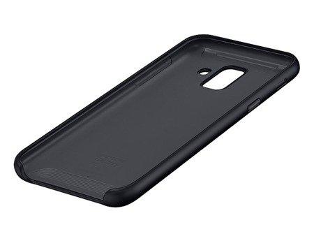 Oryginalne etui Dual Layer Cover do SAMSUNG GALAXY A6 2018 czarny