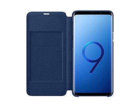 Oryginalne etui Led View Cover do SAMSUNG GALAXY S9+ / S9 Plus G965 niebieski
