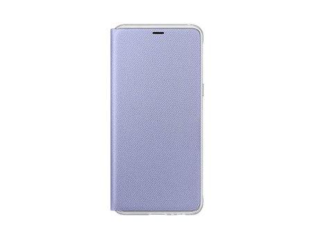 Oryginalne etui Neon Flip Cover do SAMSUNG GALAXY A8 2018 A530 fioletowy