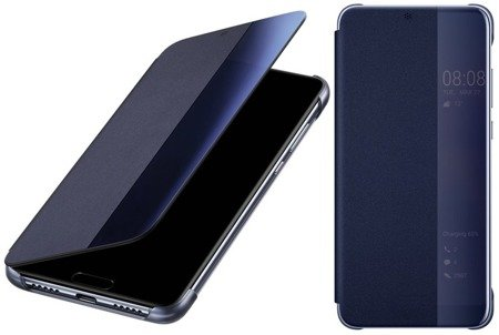 Oryginalne etui Smart View Flip Cover do HUAWEI P20 Pro niebieski