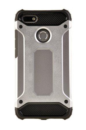 Pancerne etui Armor TPU +PC do HUAWEI P9 Lite Mini srebrny