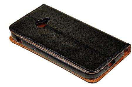 Skórzane etui Book Cover  do Samsung Galaxy Xcover 4 / 4S czarny