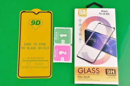 Szkło hartowane 6D do LG K22